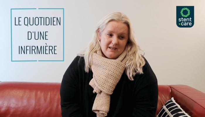Témoignage vidéo de Catherine : infirmière à domicile