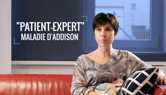"""""""Patient-Expert"""" Maladie d'Addison - Témoignage de Nathalie"""