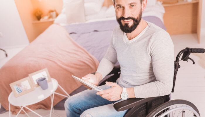 Aménagements du logement en cas de handicap et de mobilité réduite. L'autonomie est primordiale.