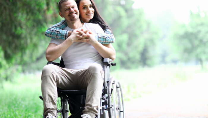 Le sentiment amoureux ou l'attirance sexuelle ne disparaissent pas avec l'arrivée de la maladie ou du handicap.